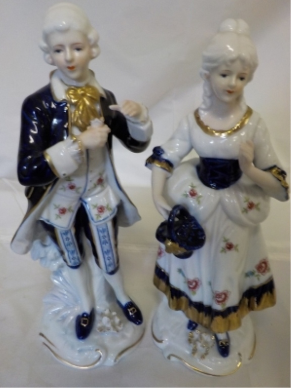 KPM Ceramic George & Martha Washington 10
