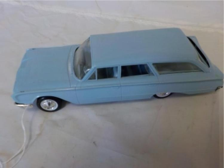 1960 Ford Country Sedan Hubley Light Blue