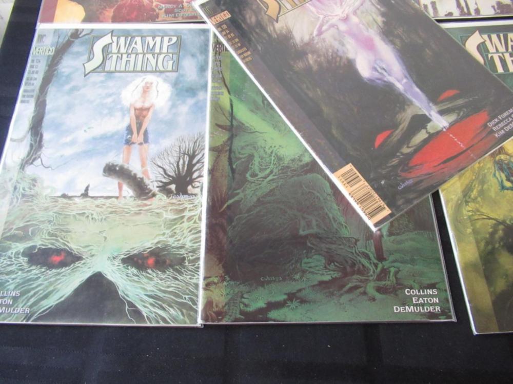 Lot 1: 12 Swamp Thing Vertigo #129-140