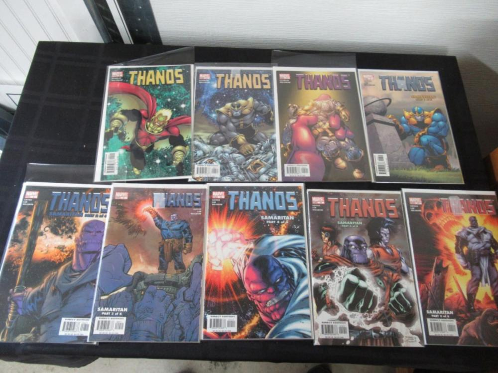 9 Thanos #2, 4-5, 7-12