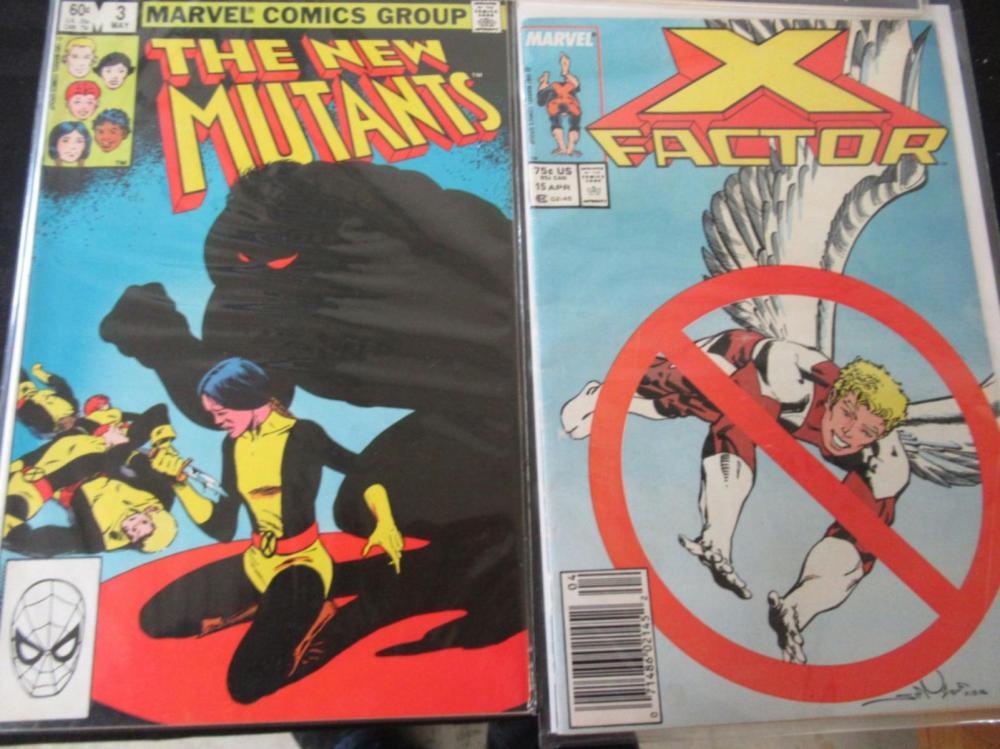 Lot 6: Avengers, New Mutants, X-Factor, Fantastic Four