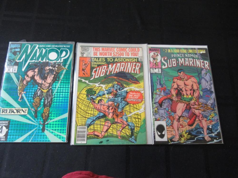 Sub-Mariner #2 & 10, Namor #37