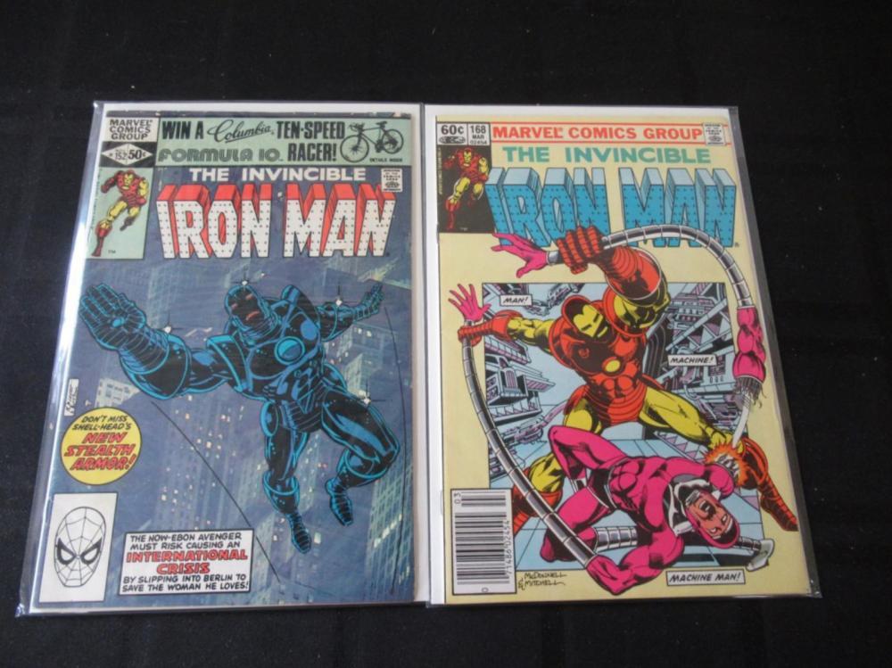 Iron Man #152, 168