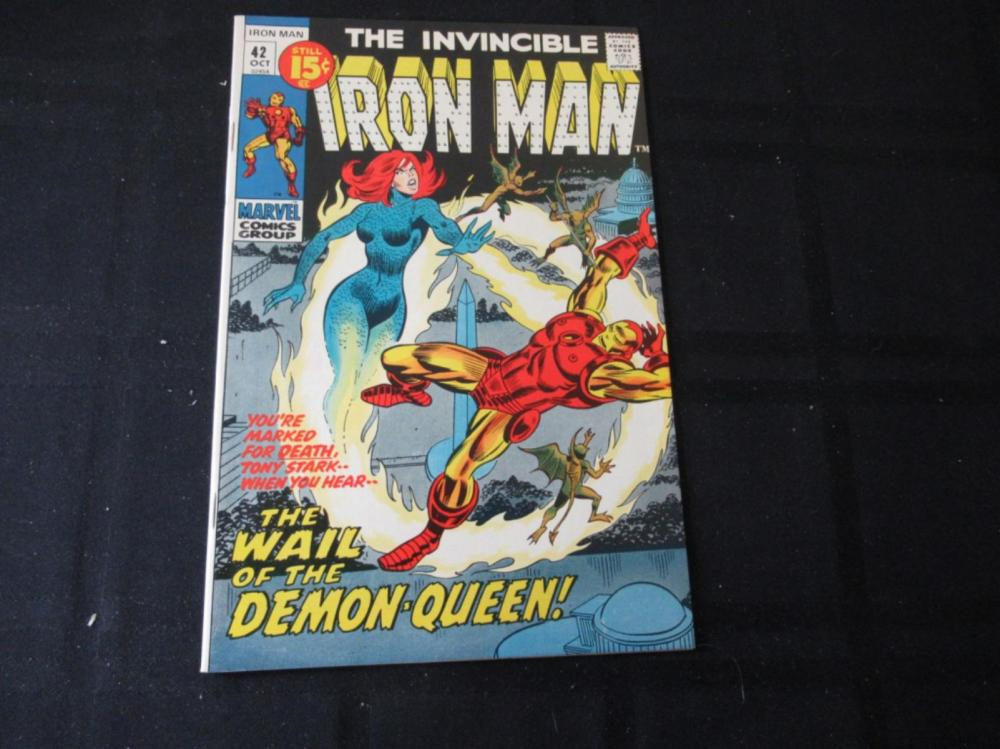 Lot 13: Iron Man #42 15c Demon-Queen