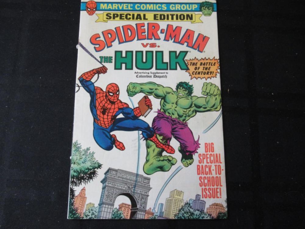 Spider-Man Vs Hulk - ad supplement