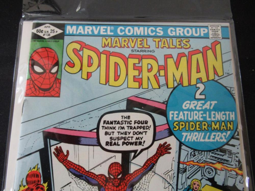 Lot 15: Marvel Tales Spider-Man #138