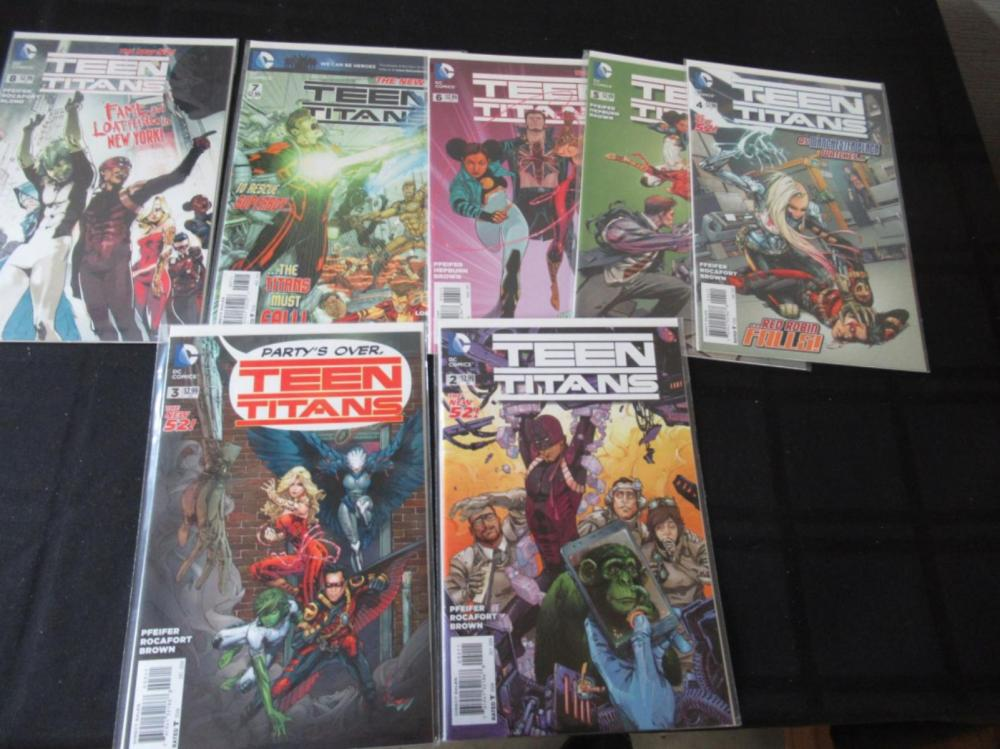 Lot 16: The New 52 Teen Titans #2-8