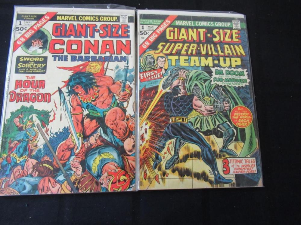 Giant-Sized Super-Villian Team-Up #1 & Conan #1