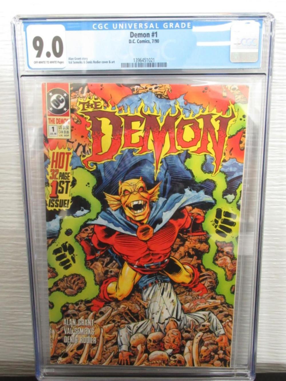 Demon #1 CGC 9.0