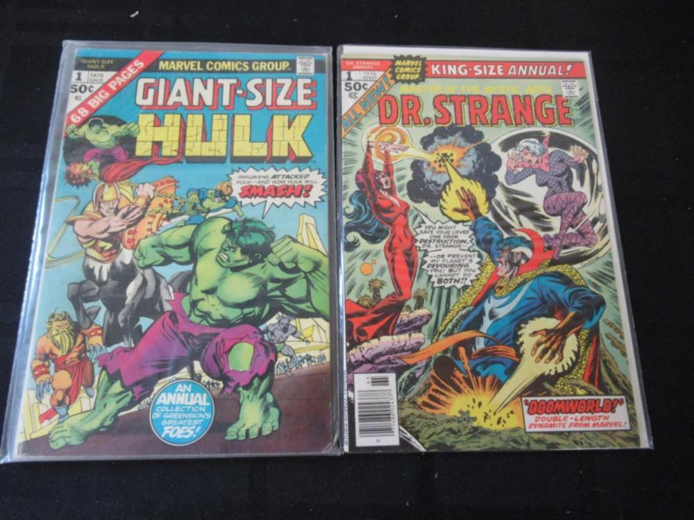 Giant-Size Hulk #1 King-Size Annual Dr Strange #1