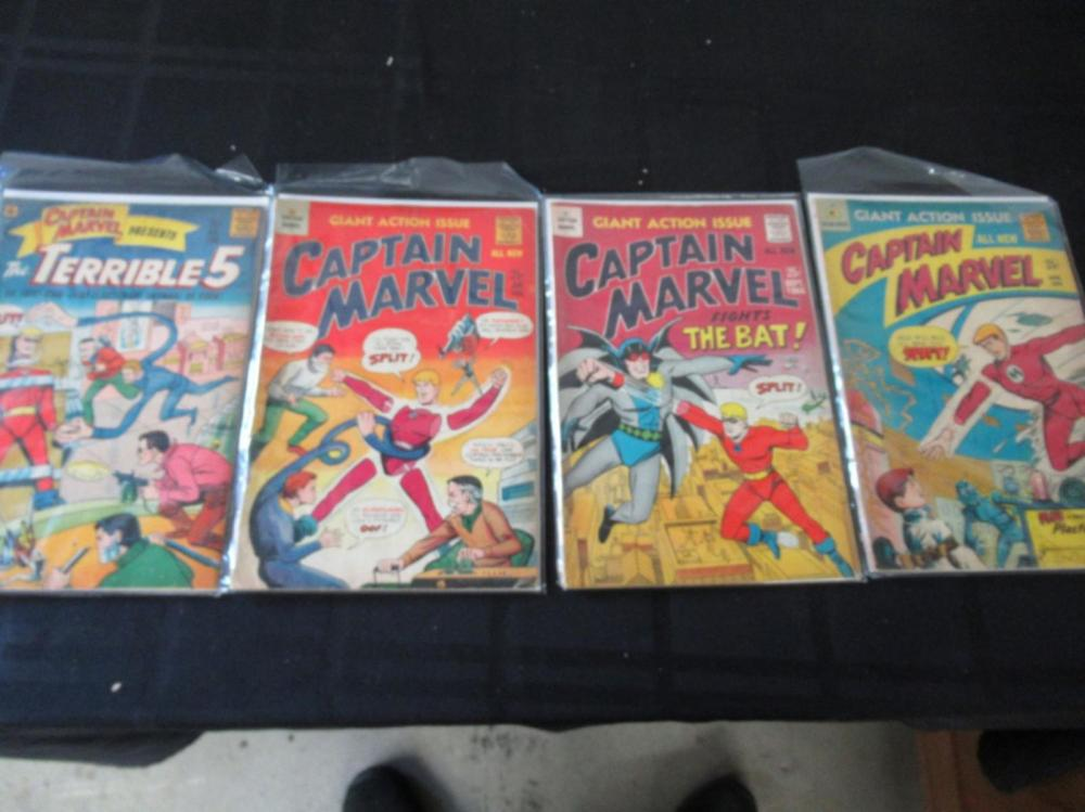 3 Captain Marvel & The Terrible 5 all 1966