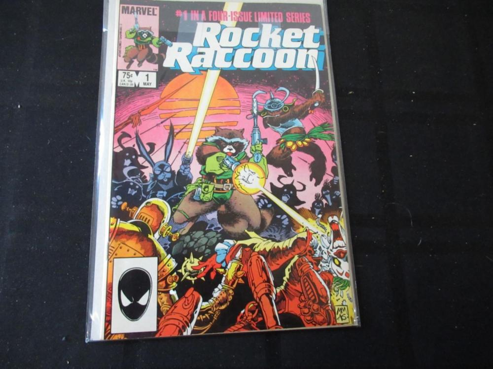 Rocket Raccoon #1 (in a four issue limited series)