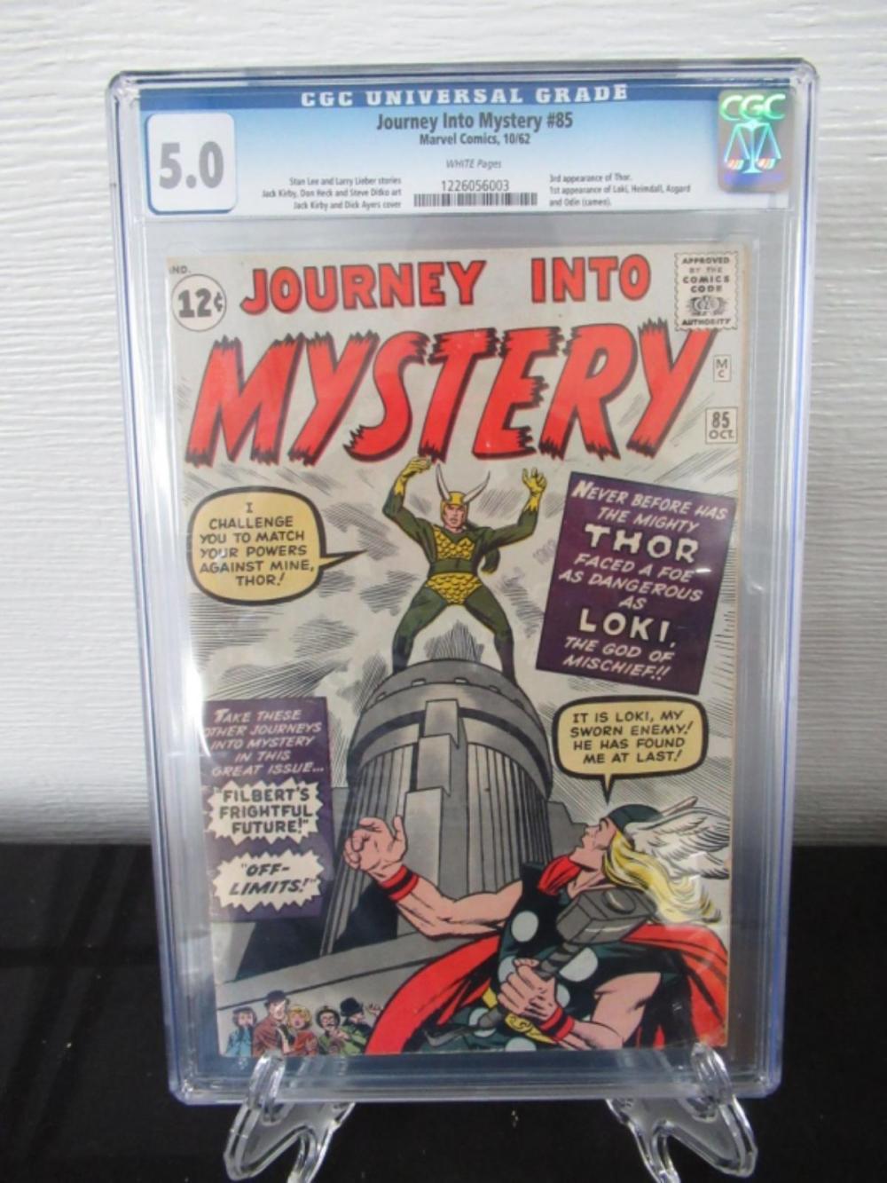 Lot 20: Journey Into Mystery #85 CGC 5.0