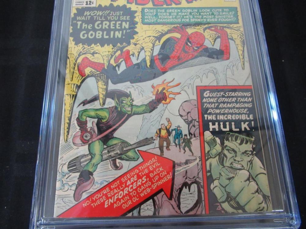 Lot 25: The Amazing Spider-Man 14 CGC 7.0 1st Green Goblin