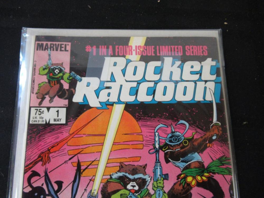 Lot 21: Rocket Raccoon #1 (in a four issue limited series)