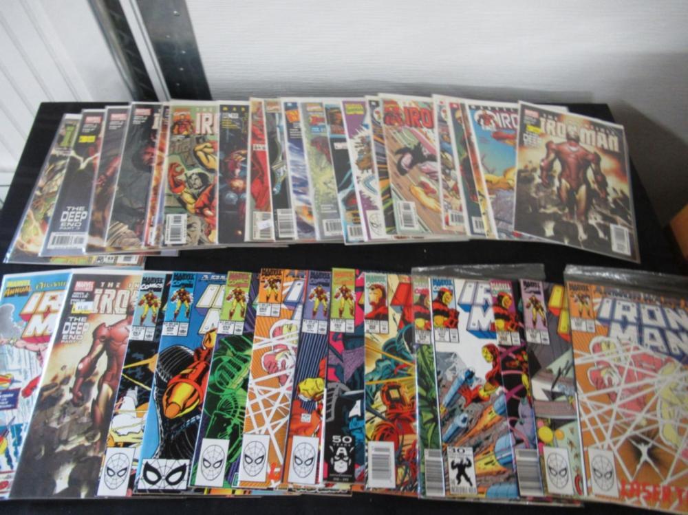 38 The Invincible Iron Man Comics various series