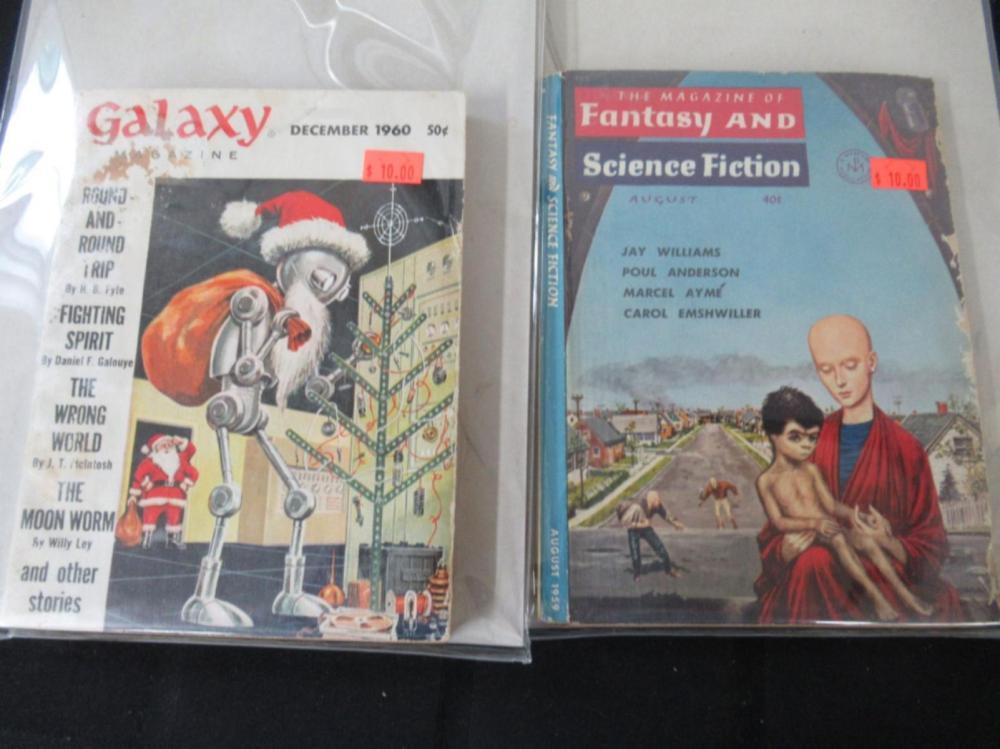 Galaxy, Fantasy and SFI graphic novels