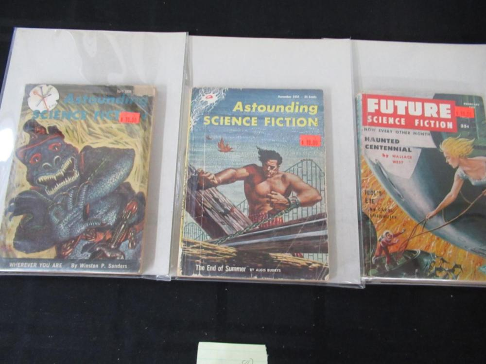 Future SFI, 2 Astounding SFI Graphic Novels 1940's