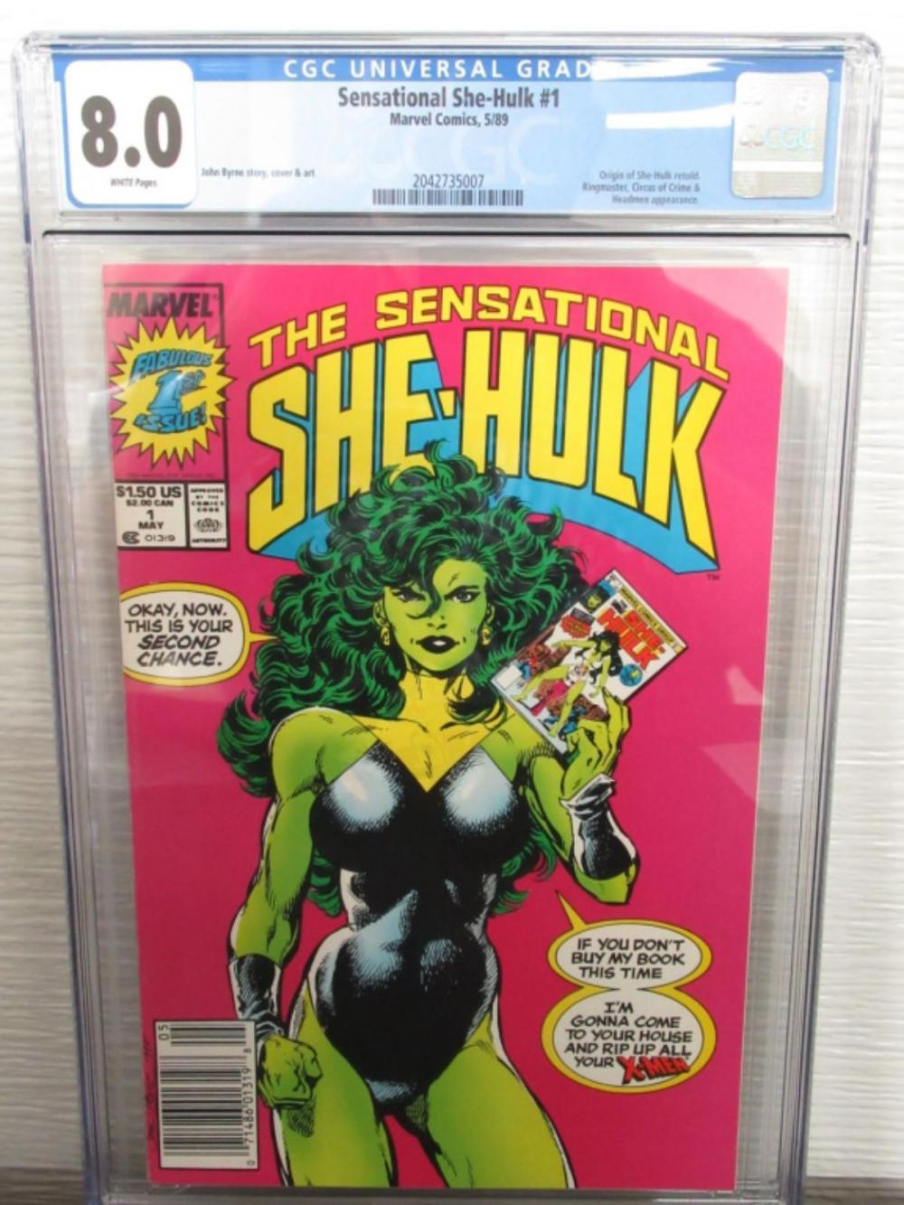 Sensational She-Hulk #1 Origin, Retold Ringmaster