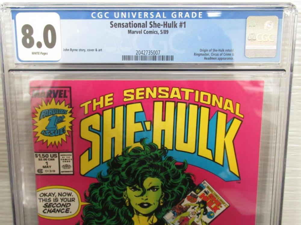 Lot 30: Sensational She-Hulk #1 Origin, Retold Ringmaster