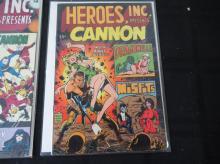Lot 33: 2 Heroes Inc 1969 & #2