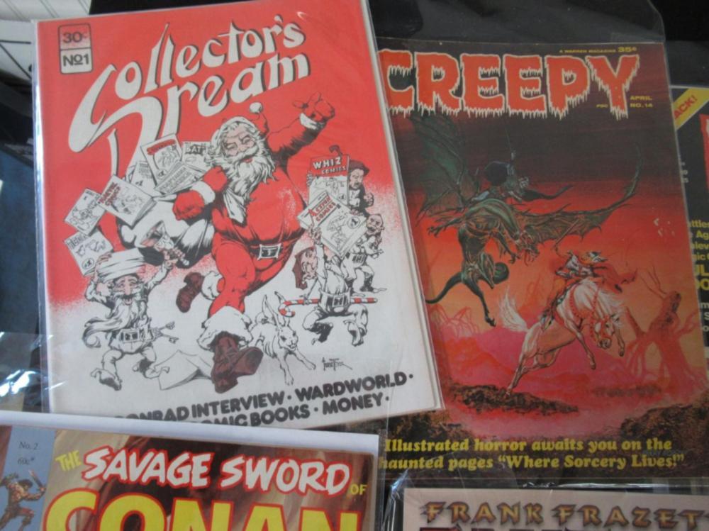 Lot 34: 8 Horror Theme Magazines: Vamperilla, Conan