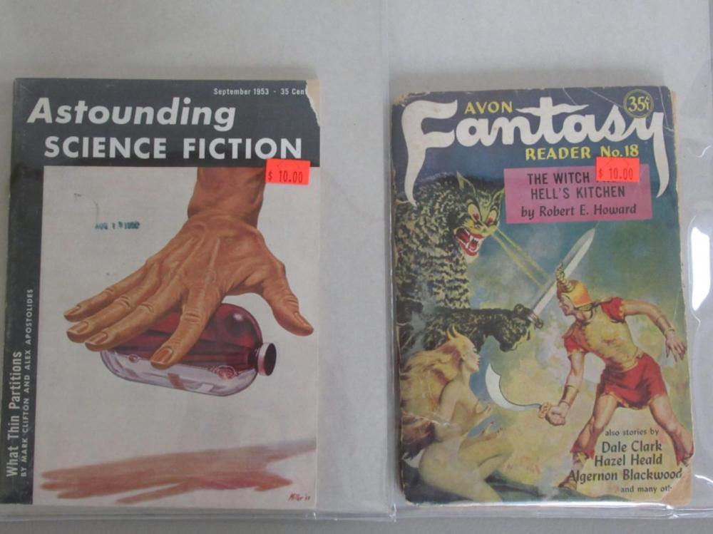 Astounding Science Fiction 1953 Avon Fantasy #18