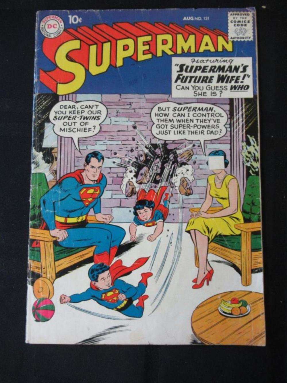 Superman 10c #131 Future Wife