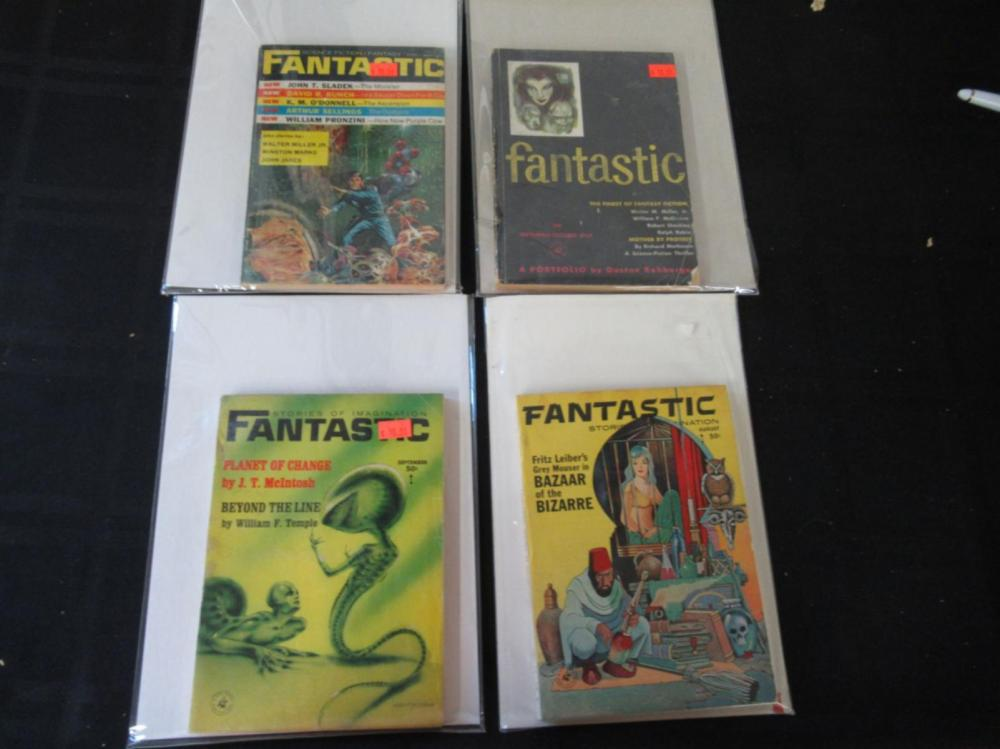 4 Stories of Imagination Fantastic Books