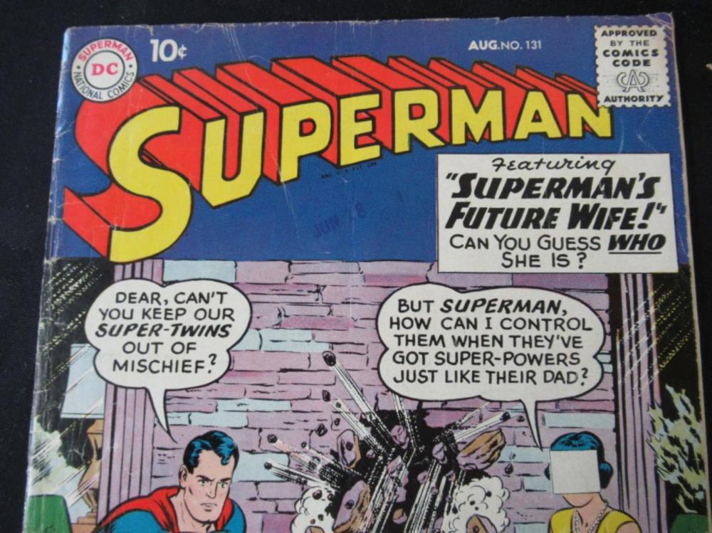 Lot 38: Superman 10c #131 Future Wife