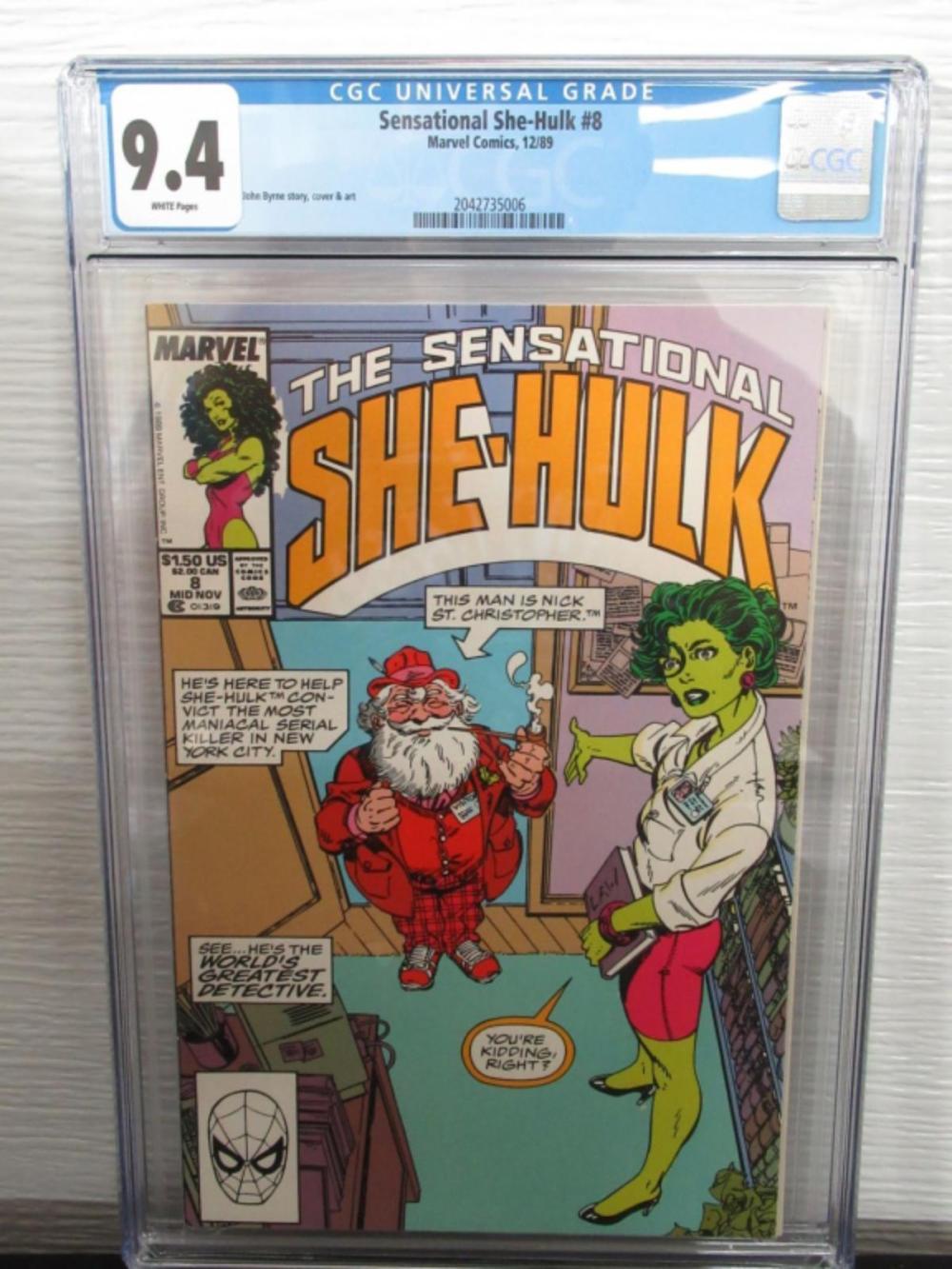Sensational She-Hulk #8 CGC 9.4