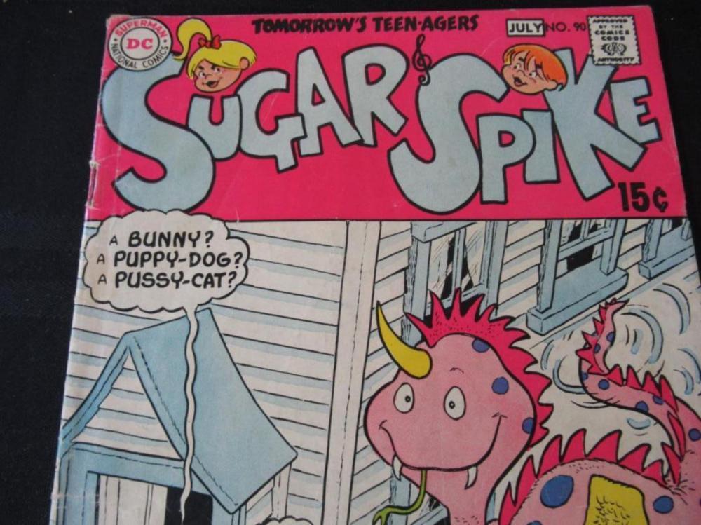 Lot 43: Sugar Spike 15c #90 Tomorrow's Teen-Agers