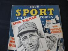 Lot 44: True Sport Picture Stories V2 #6 10c Dixie Walker