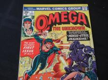 Lot 45: Omega The Unknown 25c #1 Fantastic First Issue