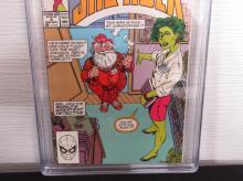 Lot 42: Sensational She-Hulk #8 CGC 9.4