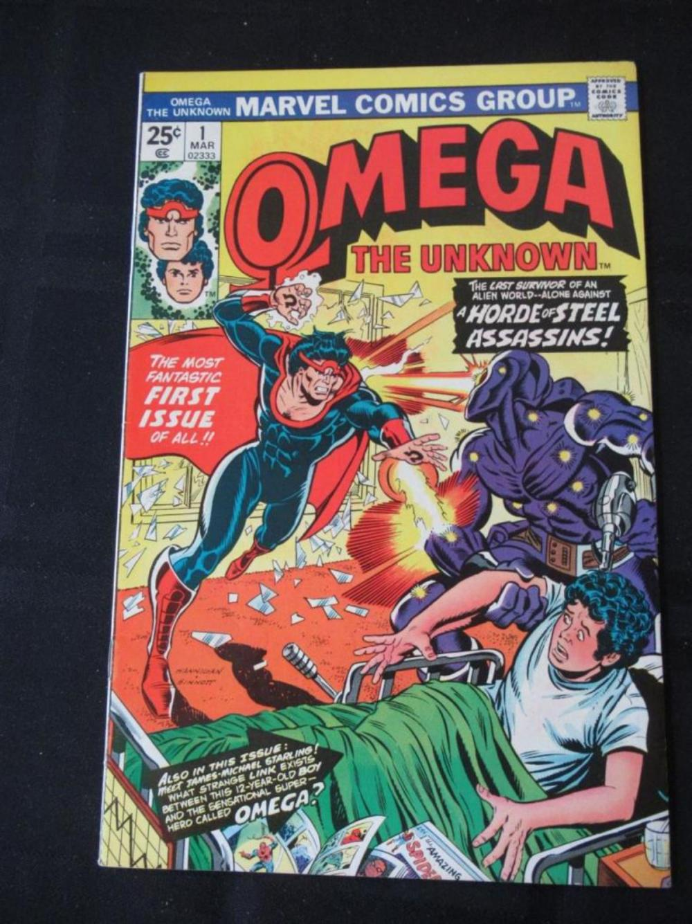 Omega The Unknown 25c #1 Fantastic First Issue