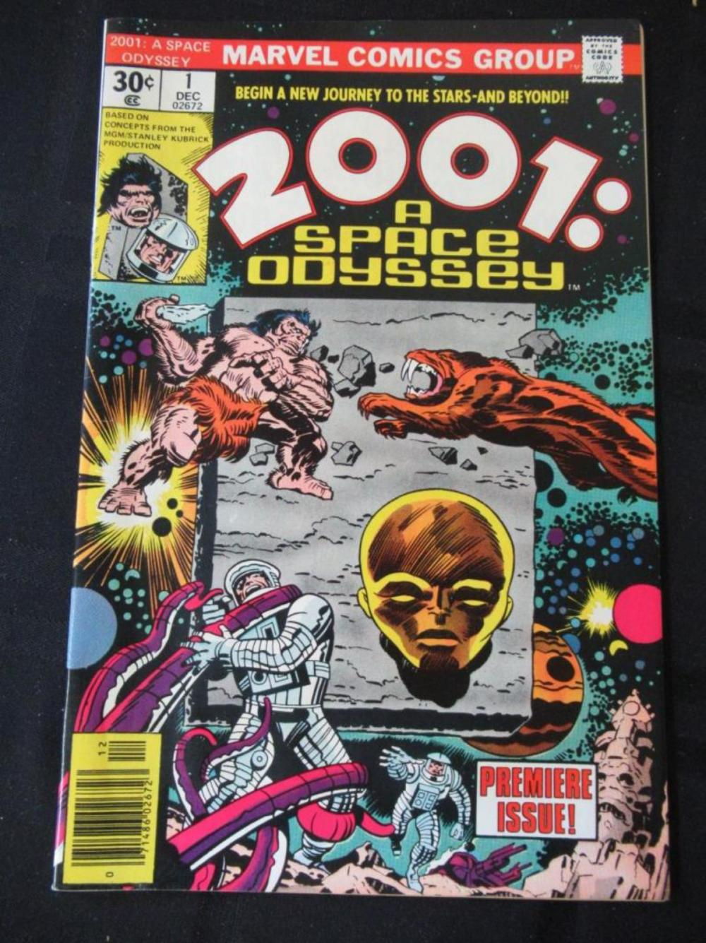 2001: A Space Odyssey 30c #1 Premiere Issue