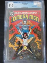 Lot 52: Omega Men #3 CGC 9.6 1st appear of Lobo