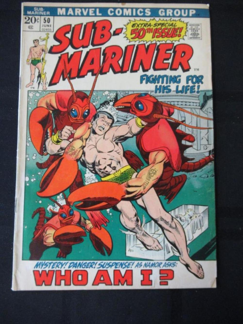 Sub-Mariner 50th Special Issue 20c #50