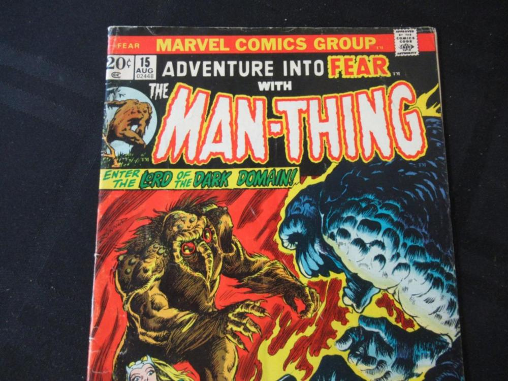 Lot 57: Adventures Into Fear with Man-Thing 20c #15