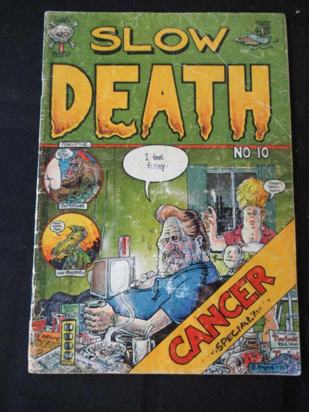 Lot 55: Slow Death #10 Cancer Special