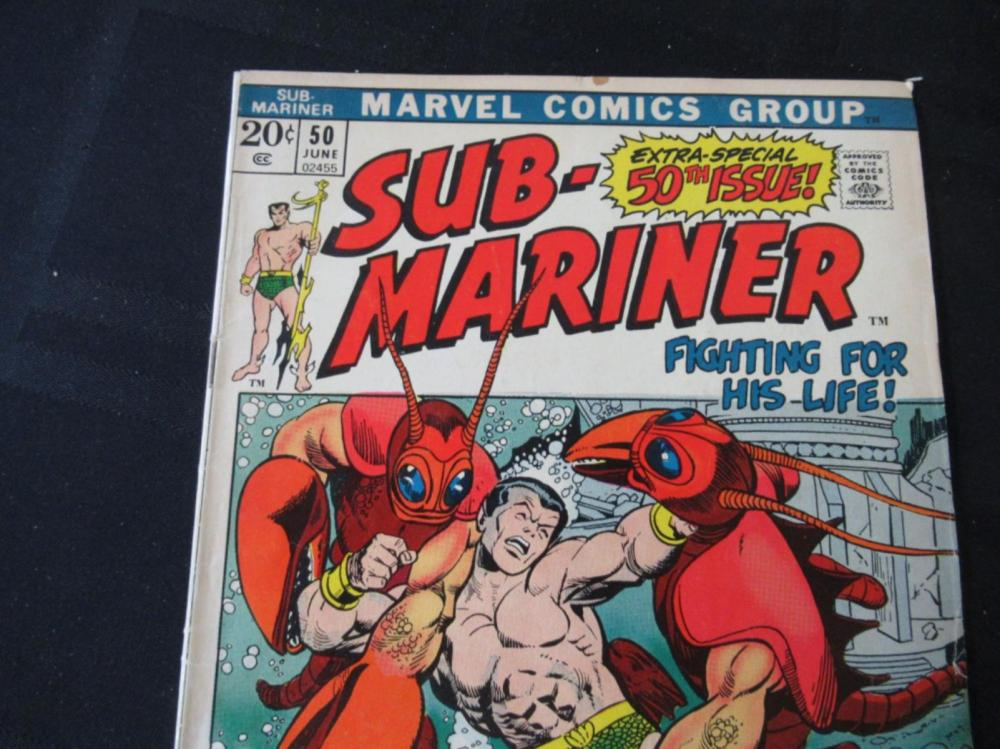 Lot 58: Sub-Mariner 50th Special Issue 20c #50
