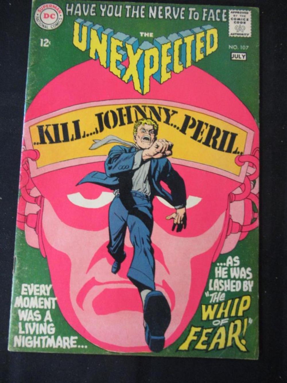 The Unexpected 12c #107 Kill Johnny Peril