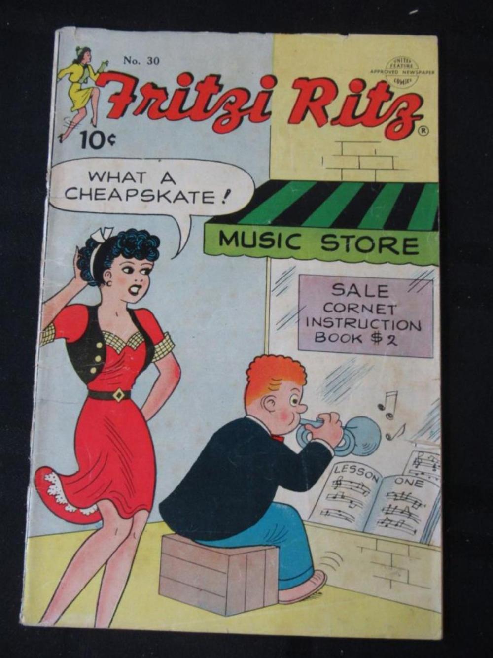 Fritzi Ritz 10c #30 Music Store - Cheapskate