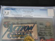 Lot 65: Action Comics #109 CGC 7.0 Prankster Cover/Story