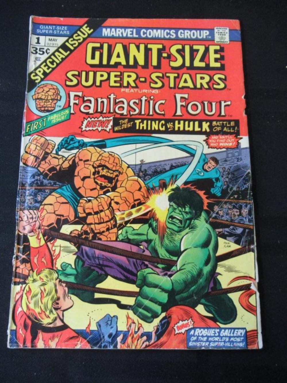 Giant Size Super-Stakes Fantastic Four #1 35c