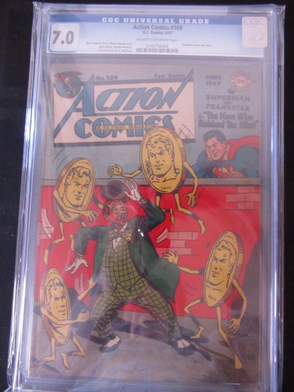 Action Comics #109 CGC 7.0 Prankster Cover/Story