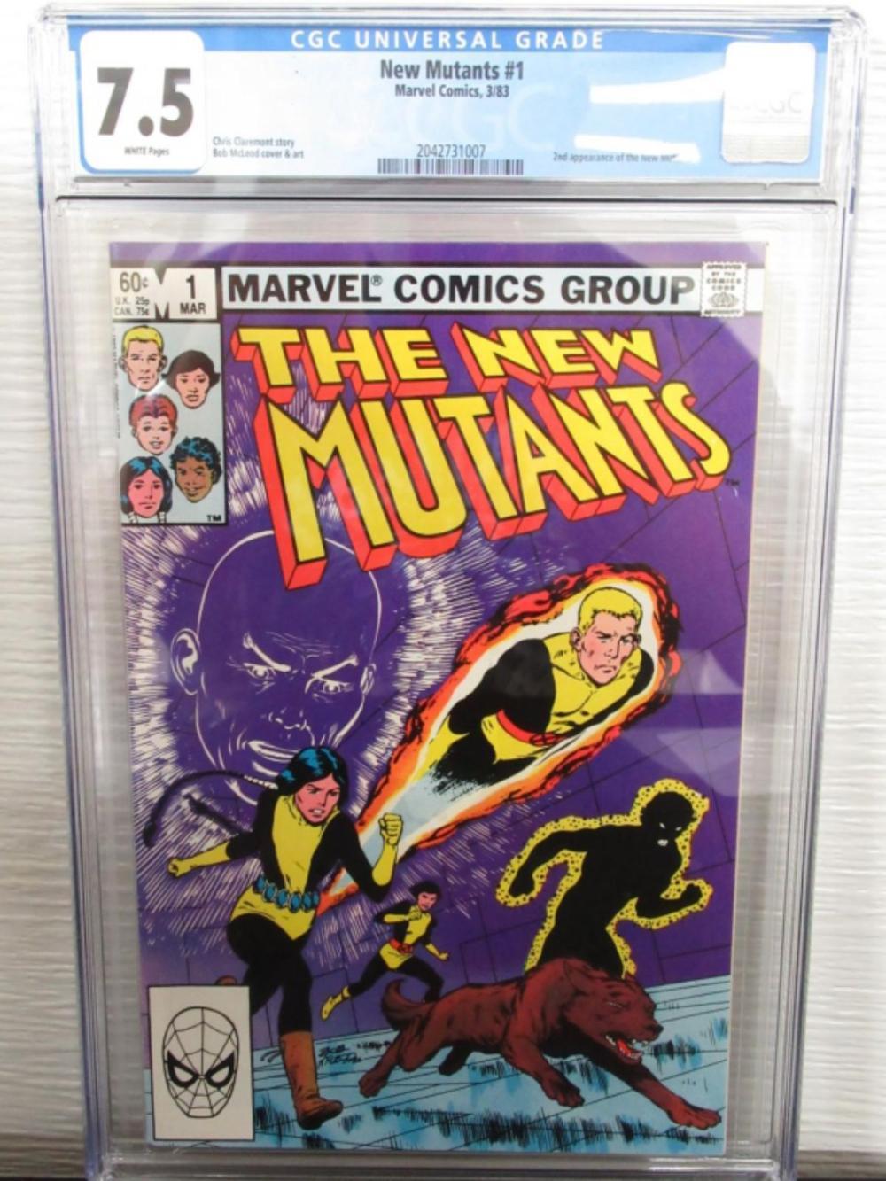 New Mutants #1 CGC 7.5 Origin Karma,