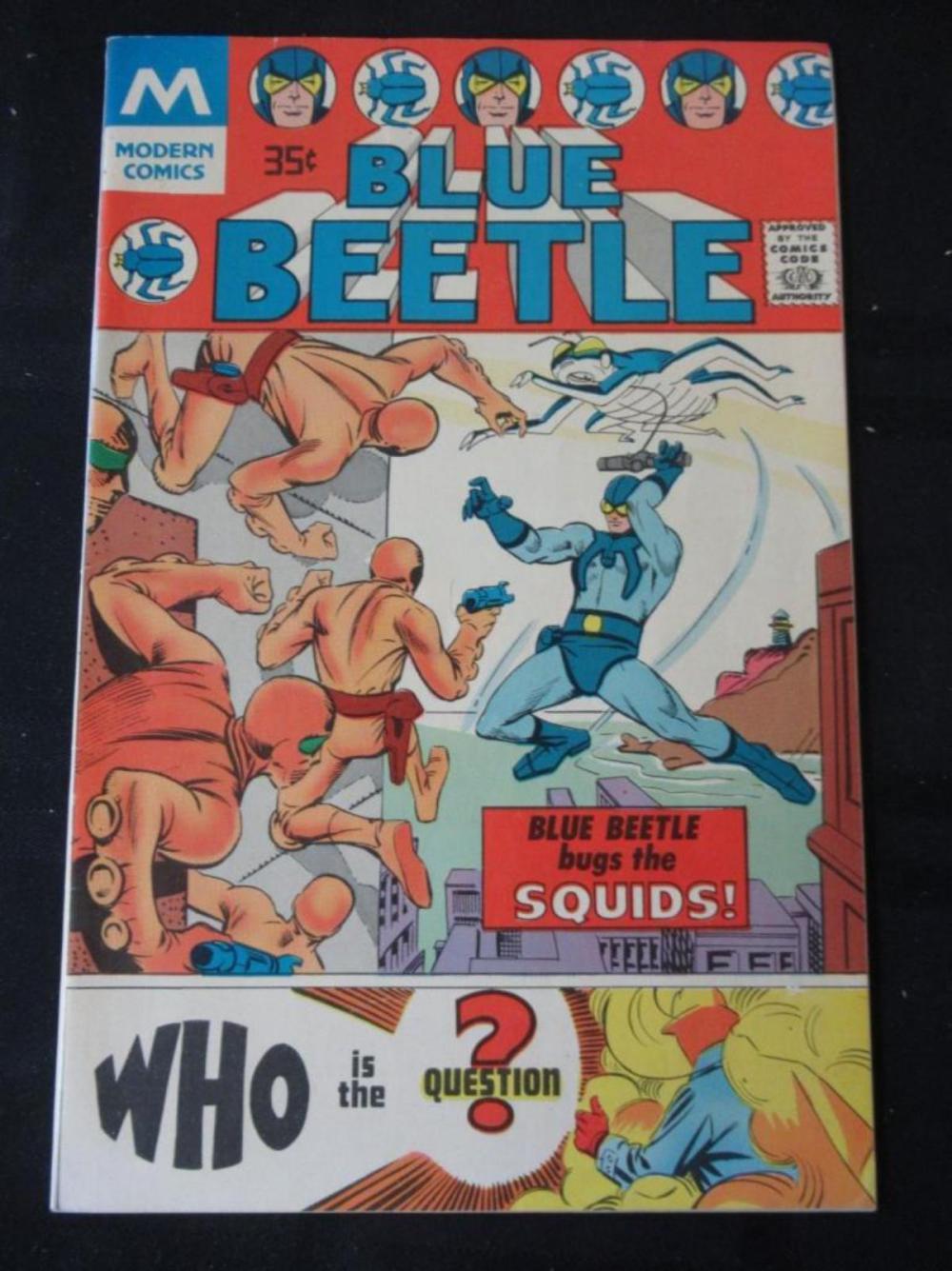 Blue Beetle #1 35 Bugs the Squids 1977 reprint