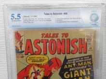Lot 74: Tales to Astonish #49 CBCS 5.5 1st Giant Man